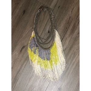 🔥SALE- any 4/$20    Fringe multi chain necklace